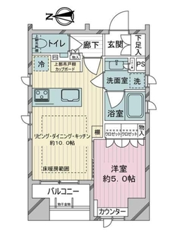 GREEN PARK千代田司町の間取図