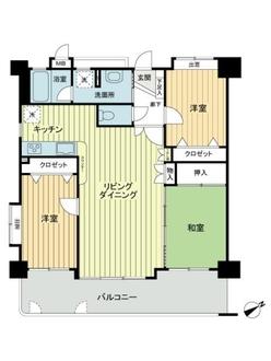 コアマンション多賀の間取図