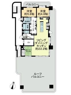 オーリエンス東雲弐番館の間取図