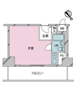ドルミ中野弥生町の間取図
