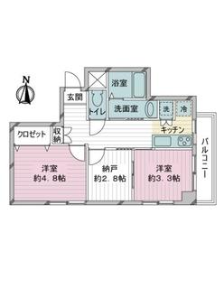 メゾン桜台の間取図
