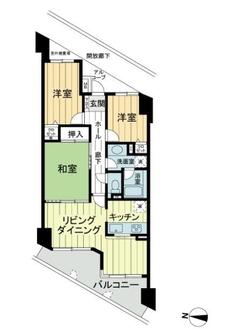 メゾン横浜能見台2の間取図