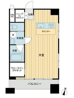 笹塚ダイヤモンドマンションの間取図