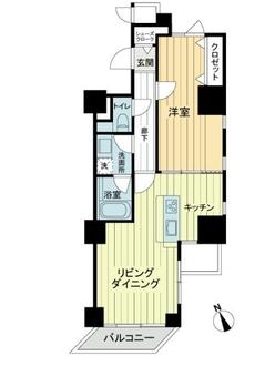 宮庭東新宿ビルの間取図