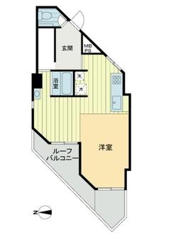 インペリアル赤坂一番館の間取図