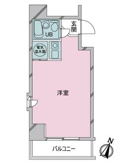 ヴェラハイツ日本橋蛎殻町の間取図