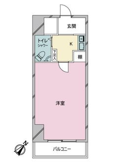 新宿アイランドアネックスの間取図
