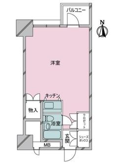 渋谷ホームズの間取図
