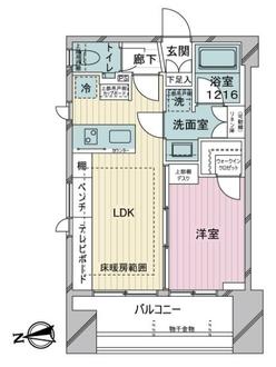 GREEN PARK千代田大手町の間取図