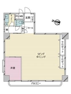 ニュー渋谷コーポラスの間取図