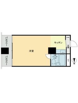三田慶応ビジデンスの間取図