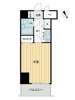 横浜平沼ダイカンプラザ3号館の間取図