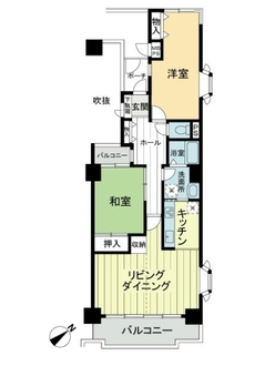 横浜ダイカンプラザスポーツメントの間取図