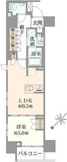 オープンレジデンシア日本橋横山町の間取図