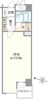 メゾン文京関口IIの間取図