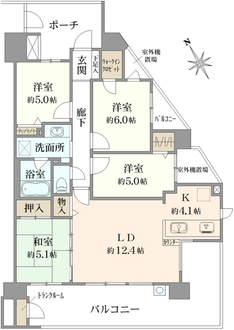 コスモ田端ロイヤルフォルムの間取図