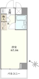 ホーユウコンフォルト板橋本町の間取図