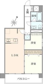 オリエンタル新宿コーポラスの間取図