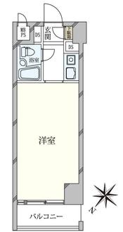九段フラワーホームの間取図