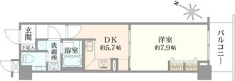 ルピナス渋谷桜丘ガーデンコートの間取図