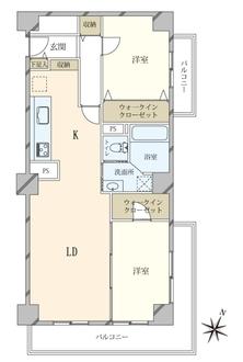 松涛パークハウスの間取図