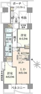 ソフィア町田タワーギャラリーの間取図