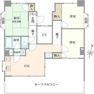 PAN横浜の間取図