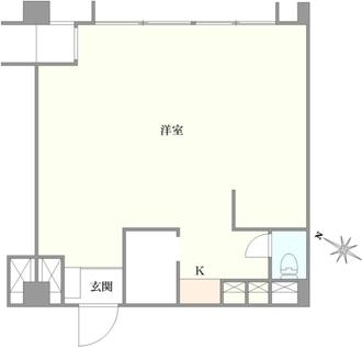 東カングランドマンション横浜パークサイドの間取図