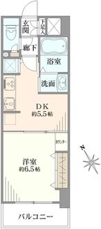アール・ケープラザ横浜Vの間取図