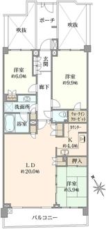 アデニウム鎌倉山の間取図