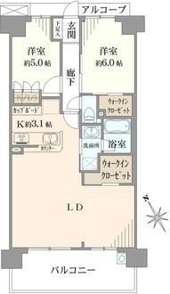 ノブレス湘南藤沢センタースクエアの間取図