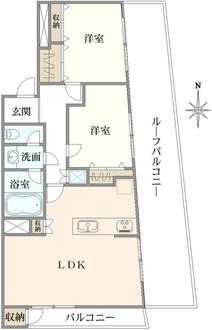 日生住宅小金井マンションの間取図