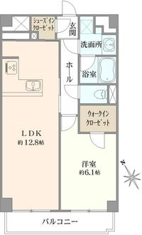 松濤ハウスの間取図