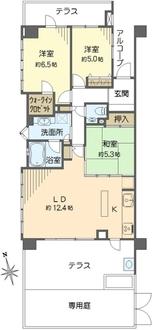 レクセルプライム日吉本町の間取図