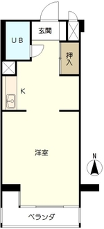小金井ヘルスケアマンションA棟の間取図