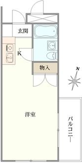 エル・ヴィーナ桜新町の間取図
