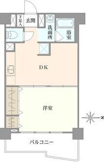 荻窪コーエイマンションの間取図
