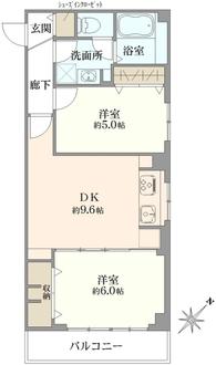 ニューパールマンションの間取図