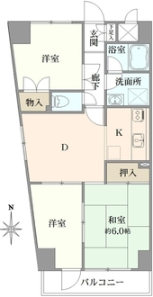 第5桜台ファミリーマンション の間取図