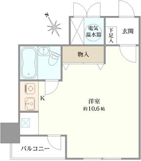 五反田グリーンハイツの間取図
