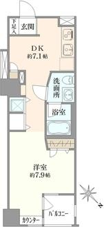 ブロードシティ東京の間取図