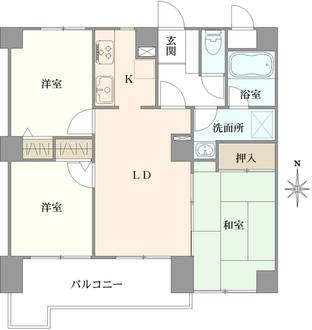 NICアーバンハイム川口青木町公園の間取図