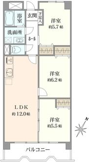 ストークマンション南浦和の間取図