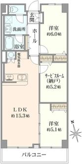 シンエーハイツ戸田の間取図