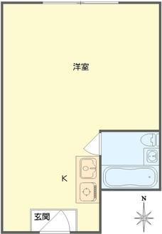 メガロコープ福島の間取図