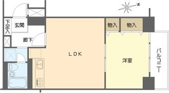 ネオハイツ第3新大阪の間取図