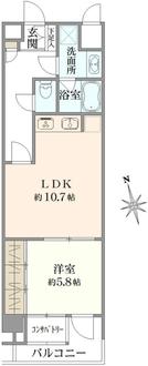 アルシオンエアポートタワーの間取図