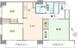 ロイヤルハイツ蒲田の間取図