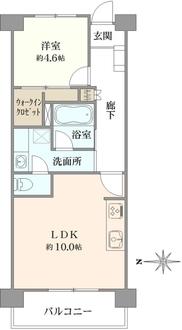 錦糸町ローヤルコーポの間取図