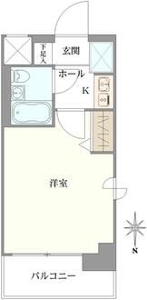 エスリード北大阪の間取図